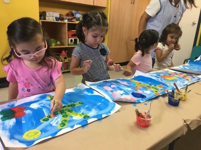Casa de los colores preescolar medellin estimulaci n for Casa jardin infantil